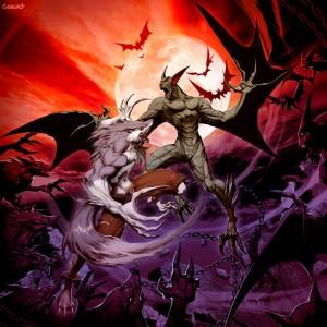 Vampire_VS_Werewolf_by_GENZOMAN