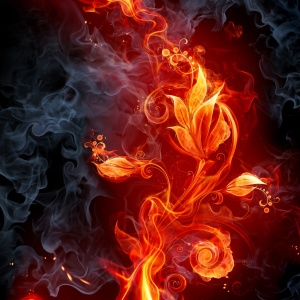 Fire-Flowers-ipad-wallpaper-ilikewallpaper_com