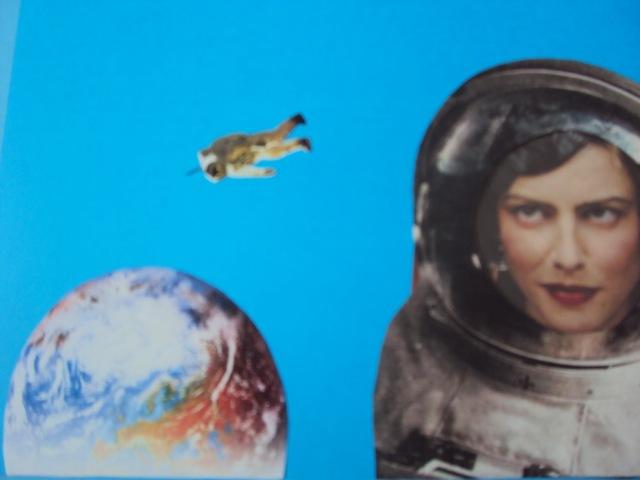 vidjevši sliku te kosmonautkinje i ja već lebdim