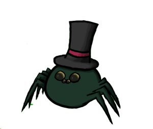 reginald_the_slightly_intelligent_spider_by_fantabulor-d5ohgc1